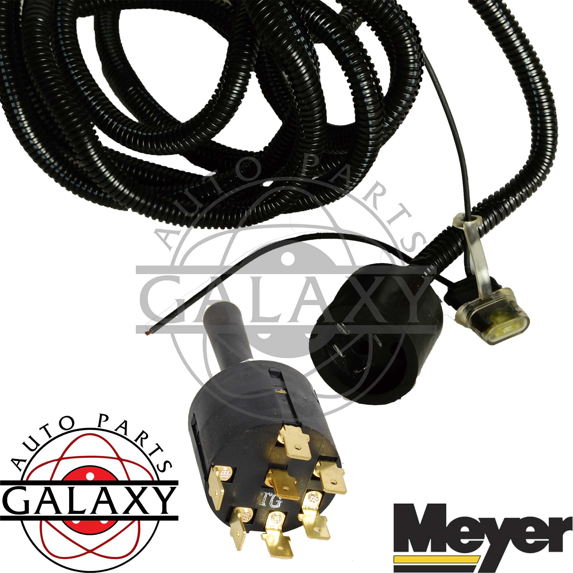 Kit Meyer 1m22092c Slick Stick Joystick Control W   Wiring