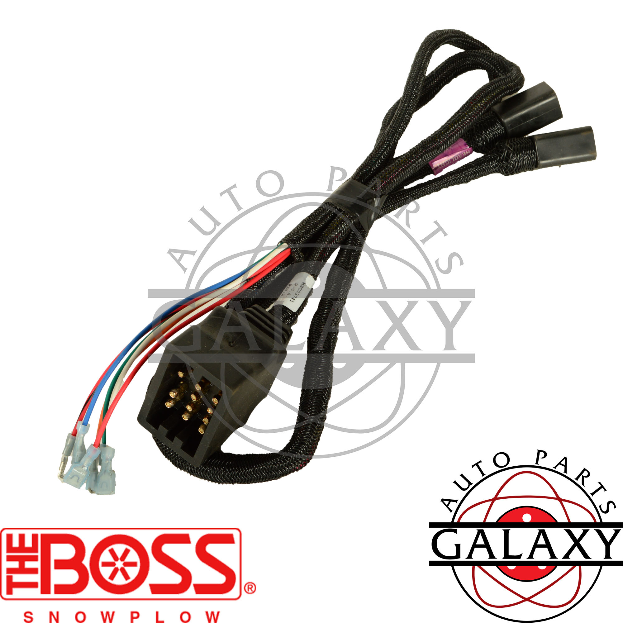 boss msc03741 snow plow wiring harness ebay. Black Bedroom Furniture Sets. Home Design Ideas