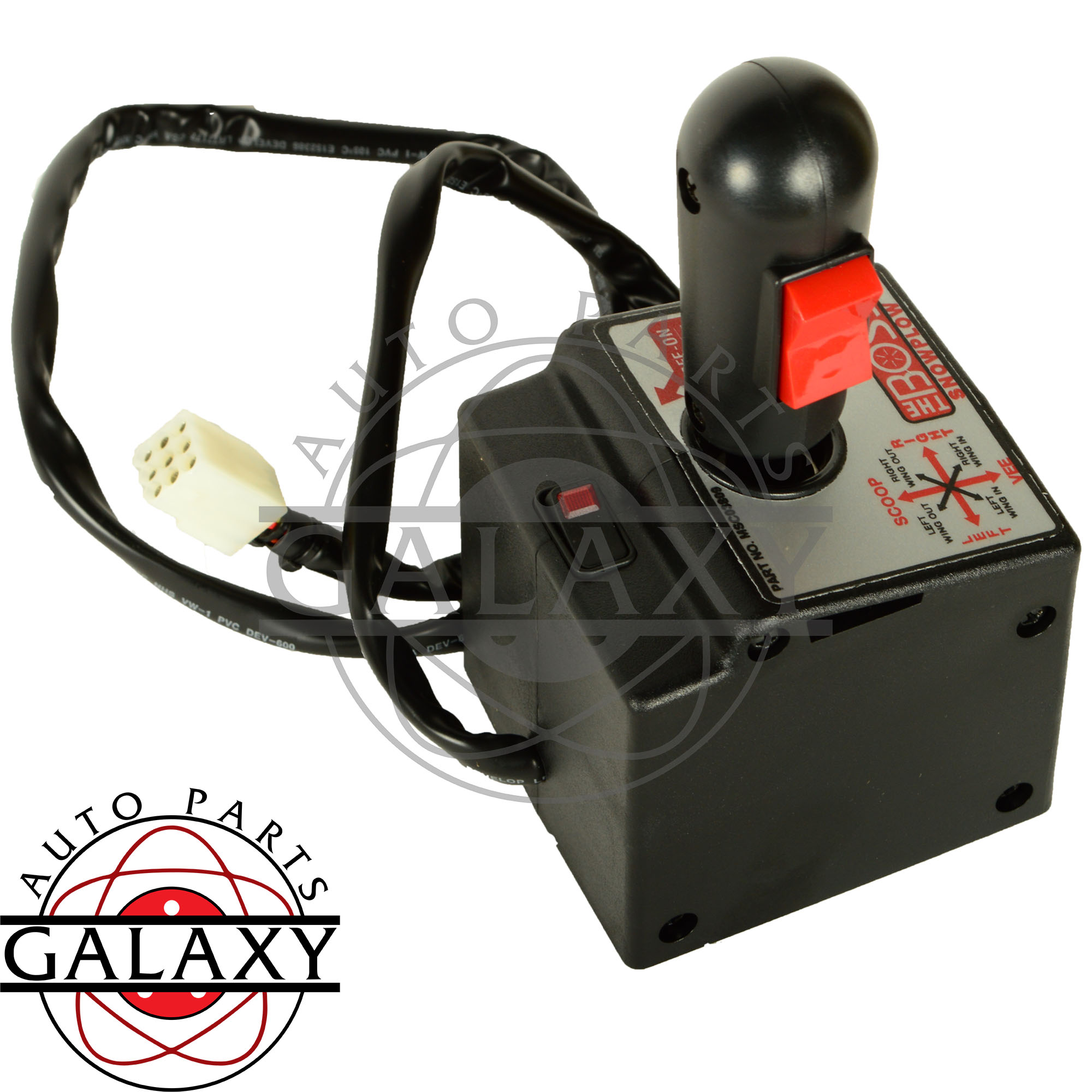 Western Snow Plow Cable Controls : Boss v blade snow plow joystick control assembly