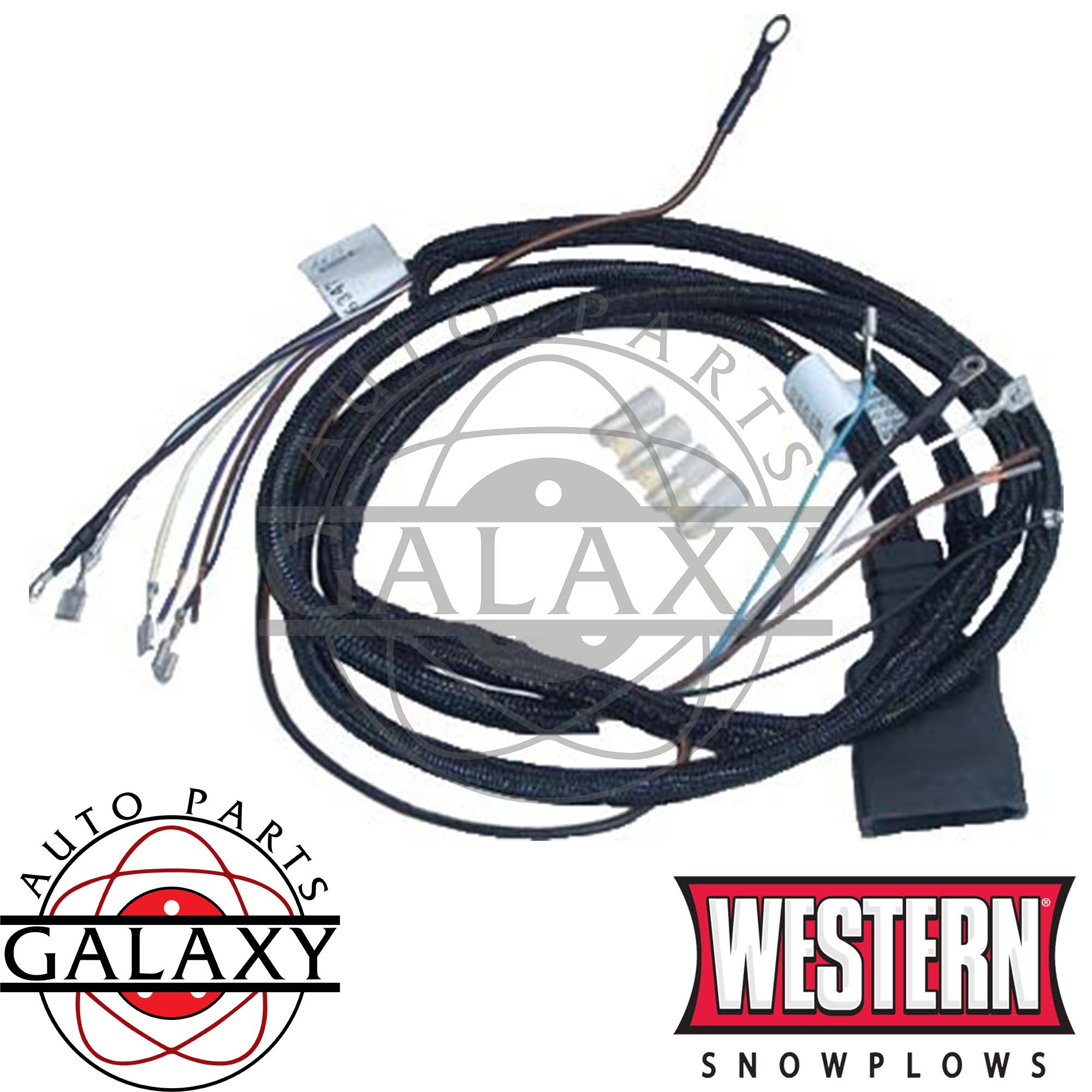 26347 Western Plow Light Harness 11-Pin For 64100 Lights